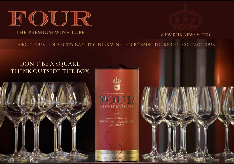 four wines tube