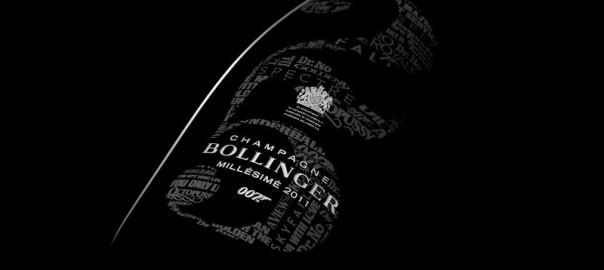 Bollinger presenta el champagne de James Bond 007
