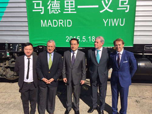 Tren Madrid China